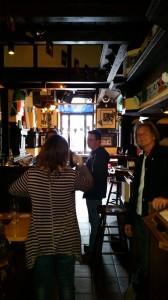 first visit to Stephen Leech (center)'s Irish Pub in Hilden, Germany